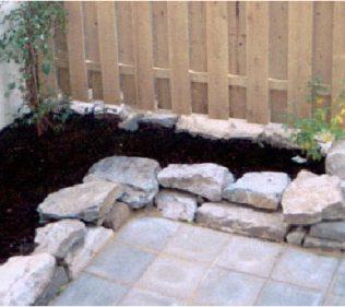 Stone and Granite Patio
