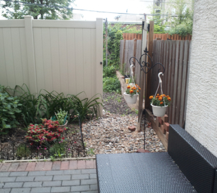 Modern Brick Patio